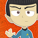 Daily Vector 020 - Mr. Spock