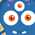Daily Vector 025 - Blue monster