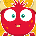 Daily Vector 093 - Red monster