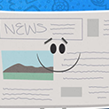Daily Vector 094 - Newspaper