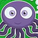 Daily Vector 267 - Baby octopus