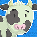Daily Vector 350 - Cow