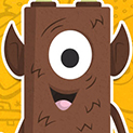 Daily Vector 357 - Brown monster